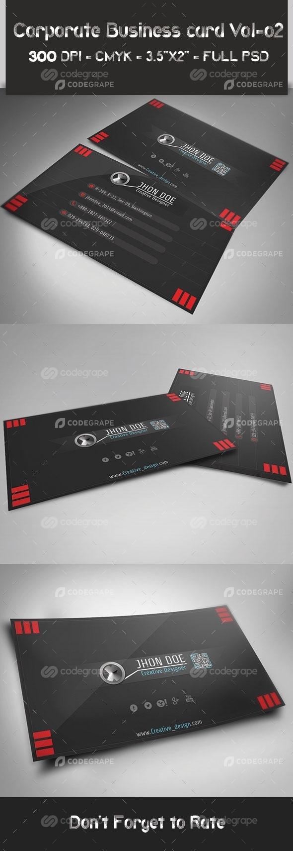 Corporate Business Card 20