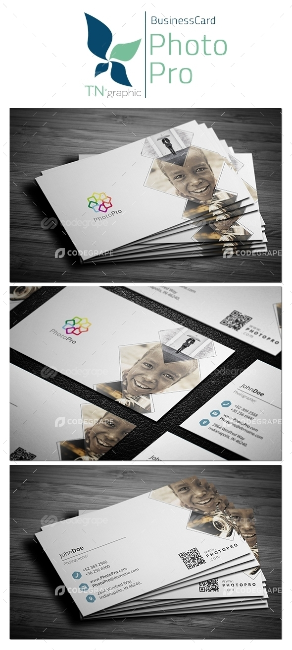 PhotoPro Business Card