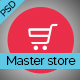 Master Store - E-Commerce PSD Template