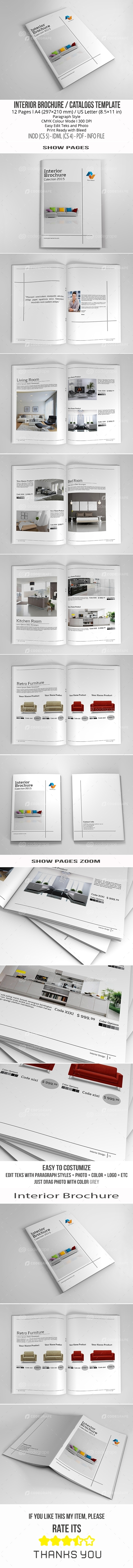 Interior Brochure A4/US Letter