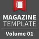 Magazine Template - Volume 01