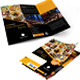 Restaurant Tri Fold Brochure + Flyer Design