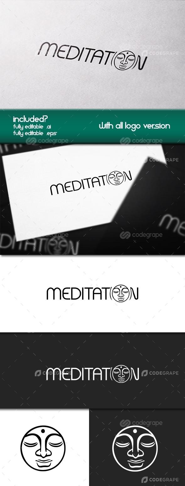 Meditation Logo Template