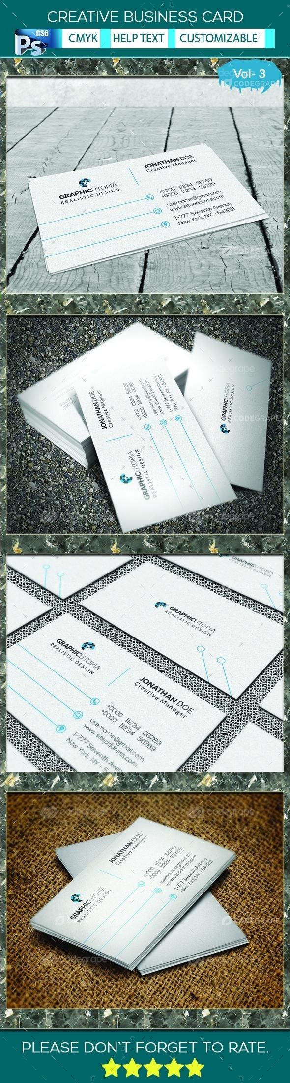Creative Business Card vol 3