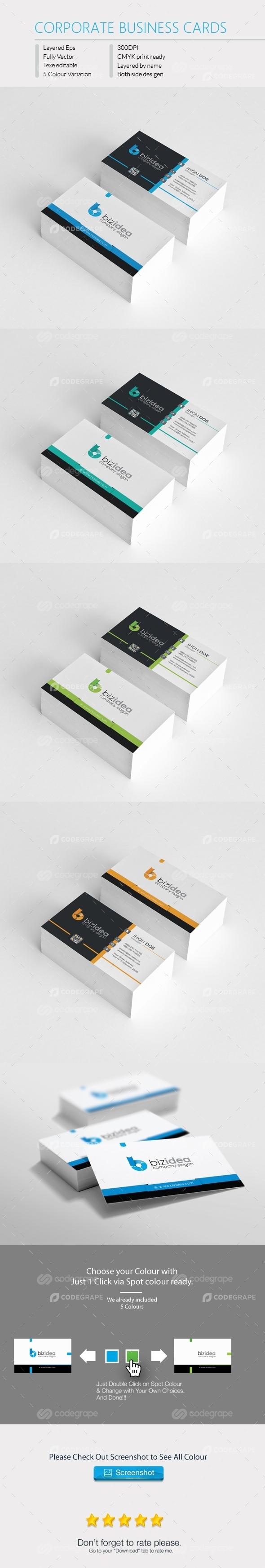Bizidea Corporate Business Card