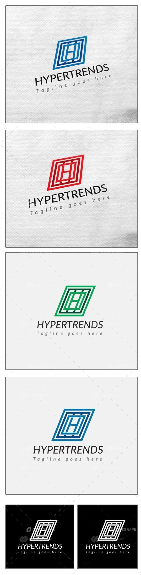 HYPERTRENDS Business Logo