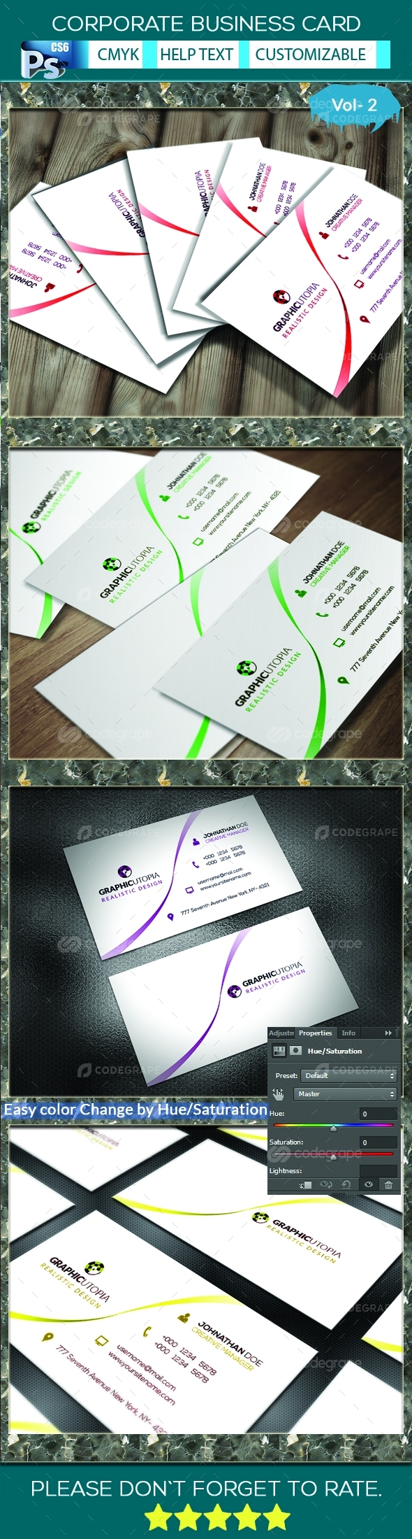 Corporate Business Card V.2