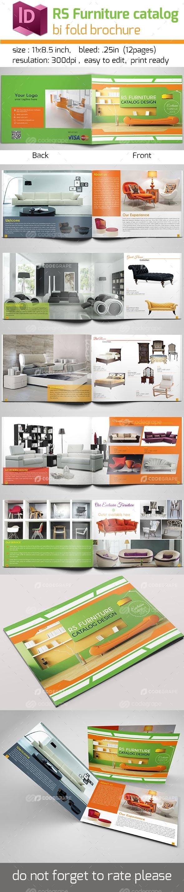 RS Furniture Bi Fold Brochure
