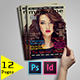 Magazine Template A4