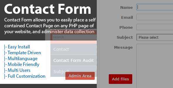Advanced Contact Form
