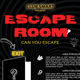 Escape Room Flyer Template