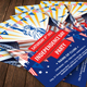 4th of July Celebration Flyer Template