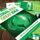 Green Business Idea Flyer Template