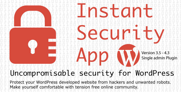 WordPress 2 Step Verification With Instant Security App