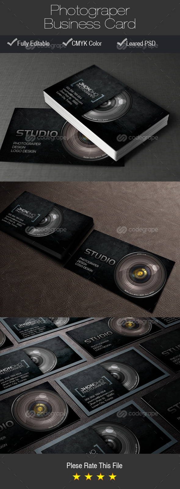 Photograper Business Card