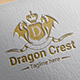 Dragon Crest Logo Template