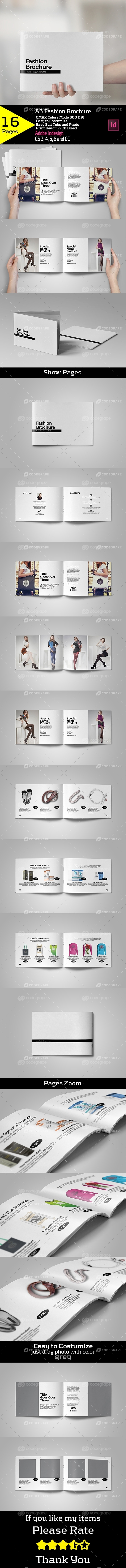 A5 Fashion Brochure