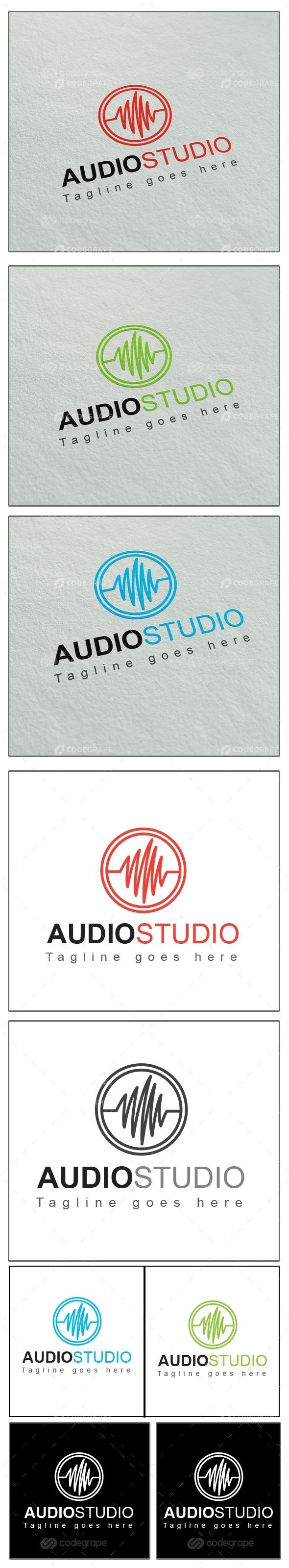 Audio Studio Logo