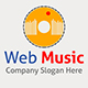 Online Web Music Logo Template