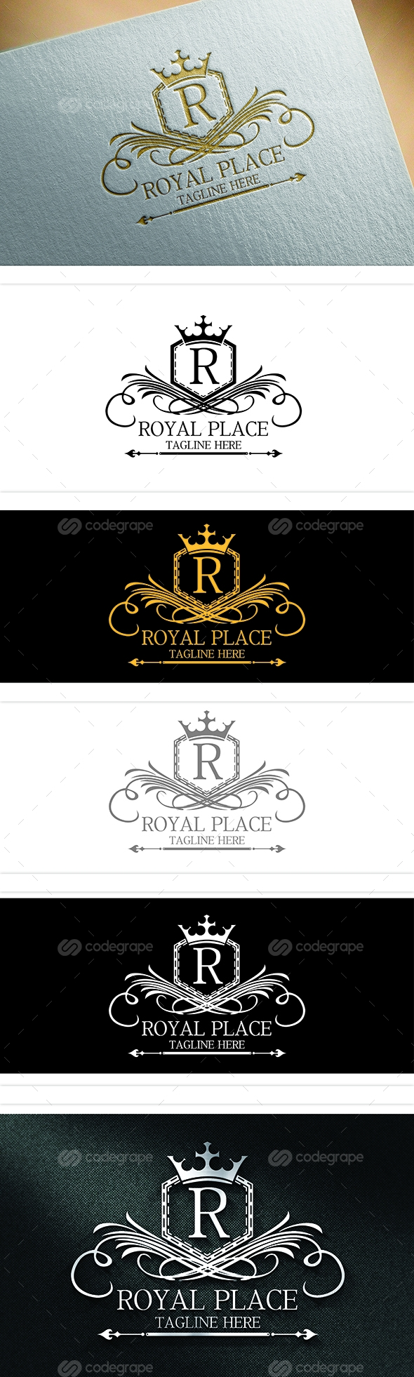 Royal Place Logo Template