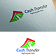 Cash Transfer Logo Template