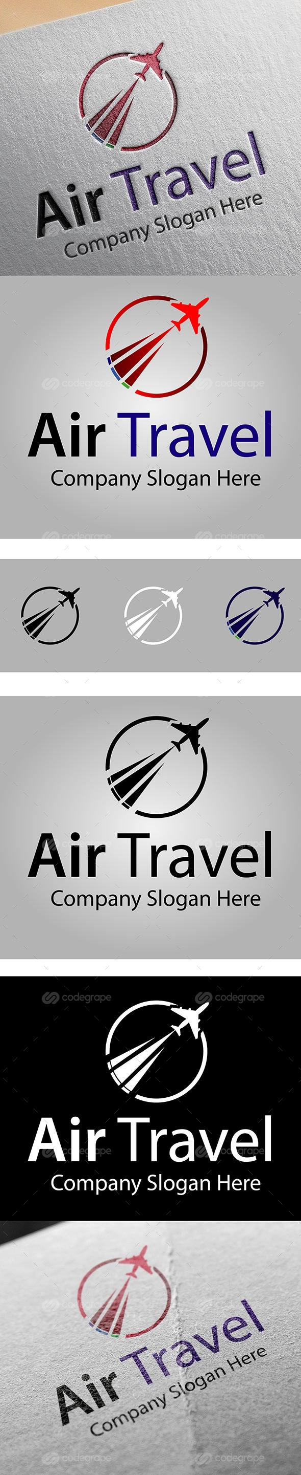 Air Travel Logo Template