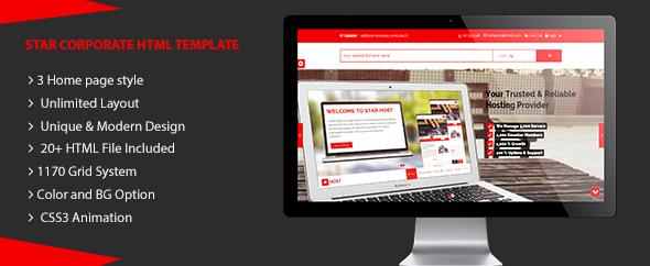 Star Host - HTML5 Responsive Website Template