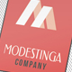 Creative or Corporate Business Card - Modestinga