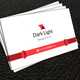 White Business Card 2
