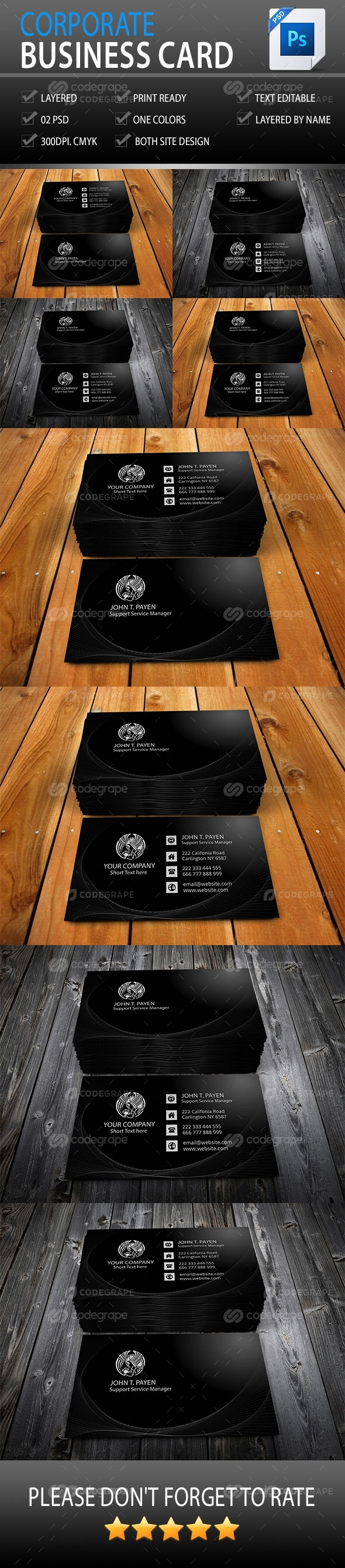 Corporate Business Card Vol-3.0
