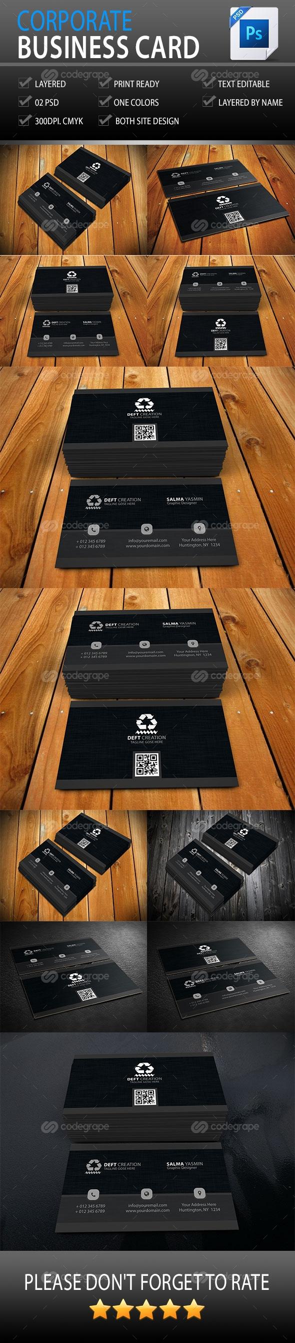 Corporate Business Card Vol-4.0