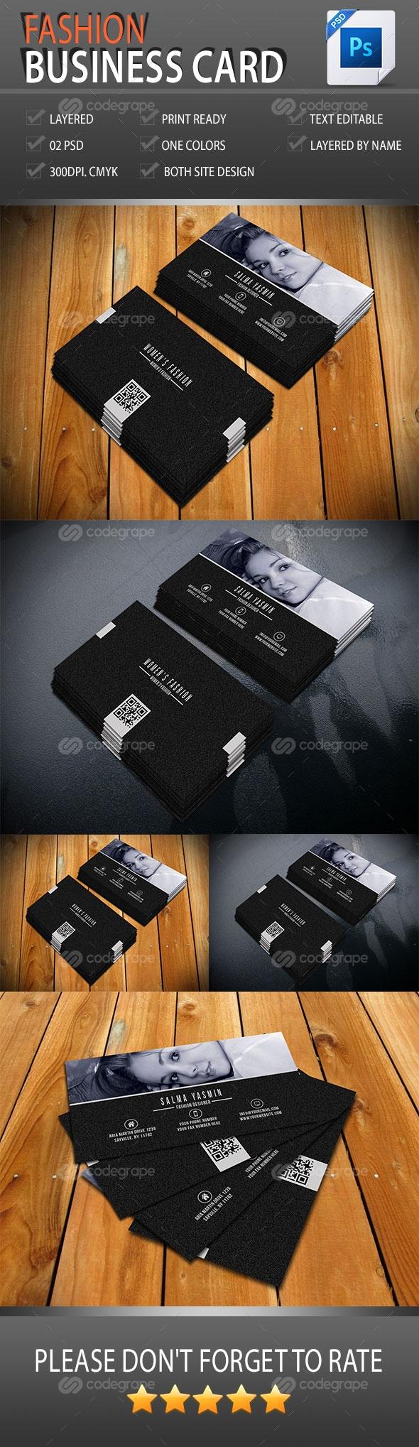 Fashion Business Card Vol-1.0