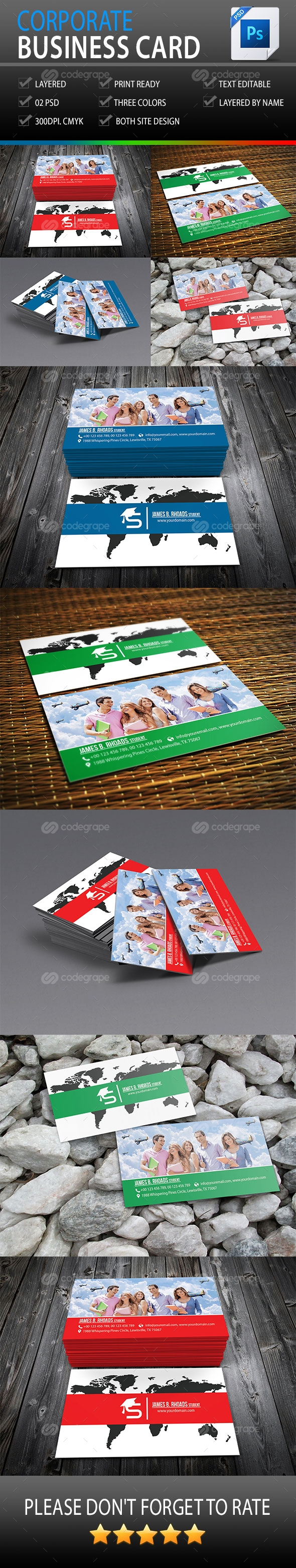 Personal Visiting Card Vol-1.0