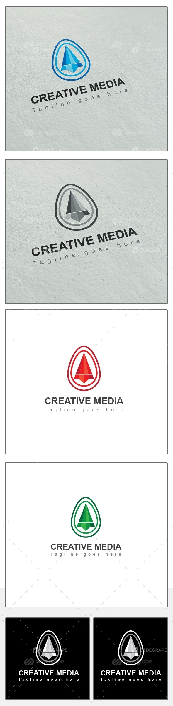 Creative Media Logo