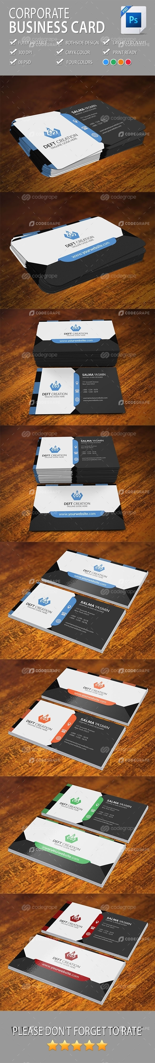 Corporate Business Card Vol-10