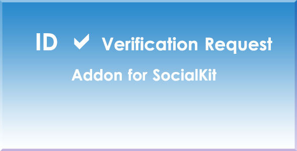 ID Verification Request Addon For SocialKit
