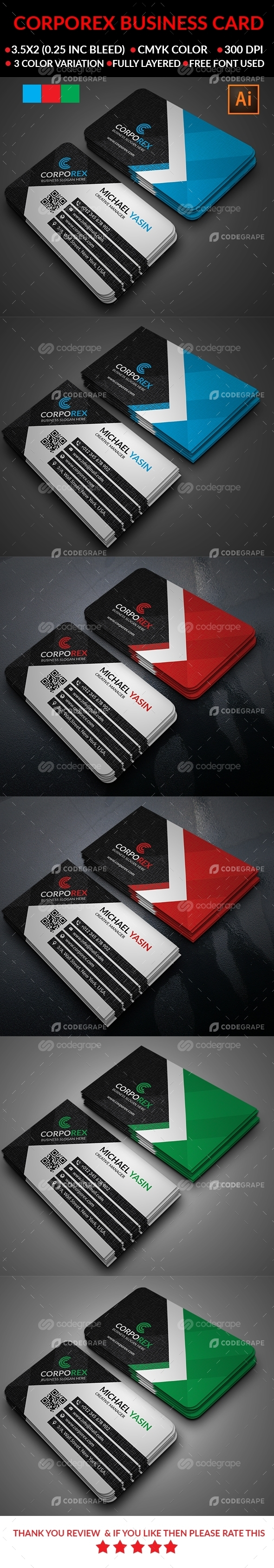 Corporate Business Card_Vol-1