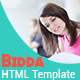 Bidda - HTML Education Theme