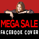 Mega Sale Facebook Cover