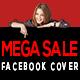 Mega Sale Facebook Cover