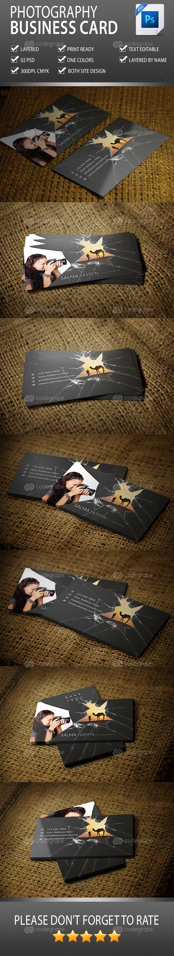 Photography Business Card Vol-2.0