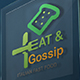 Eat & Gossip Logo Template