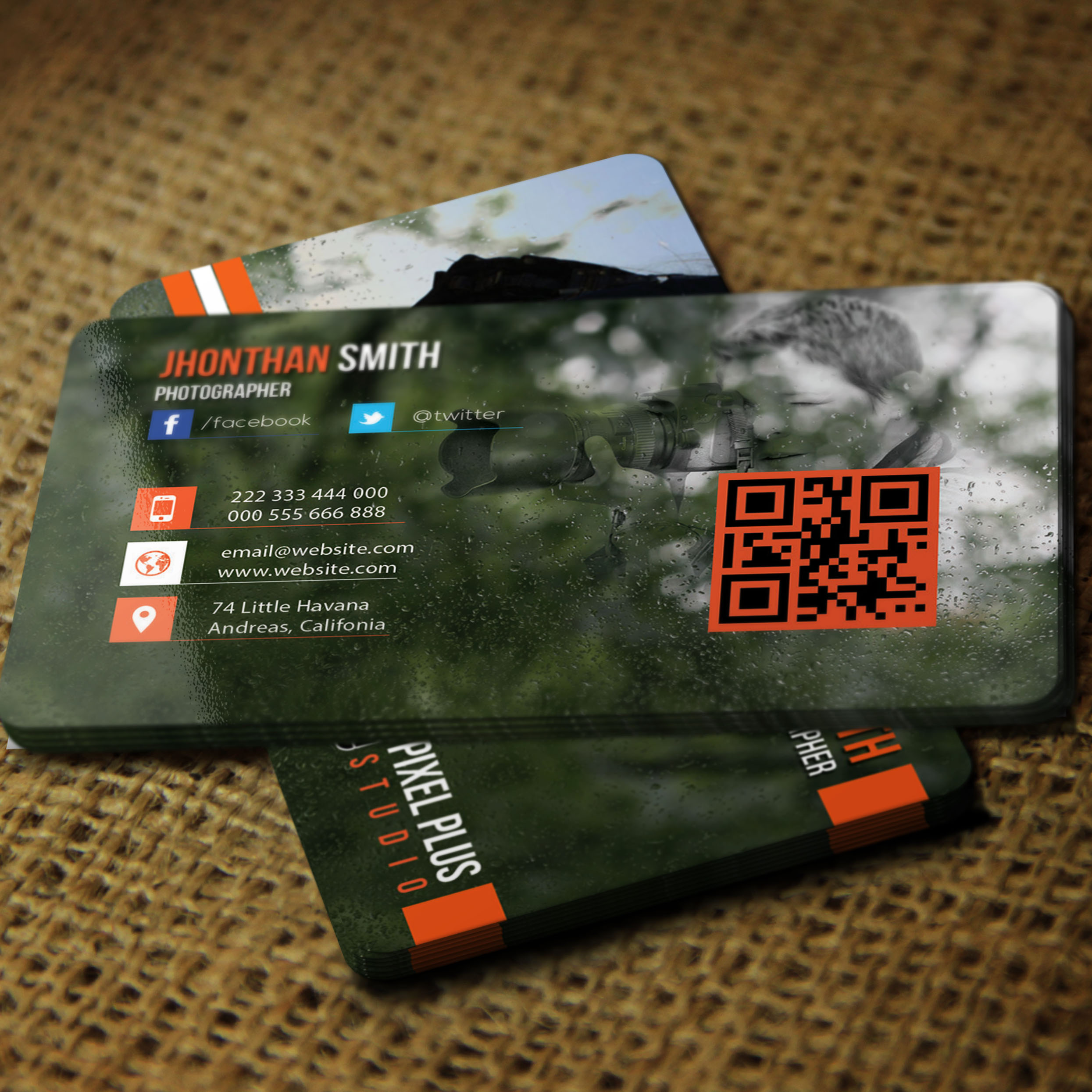 Photography Business Card Vol: 02