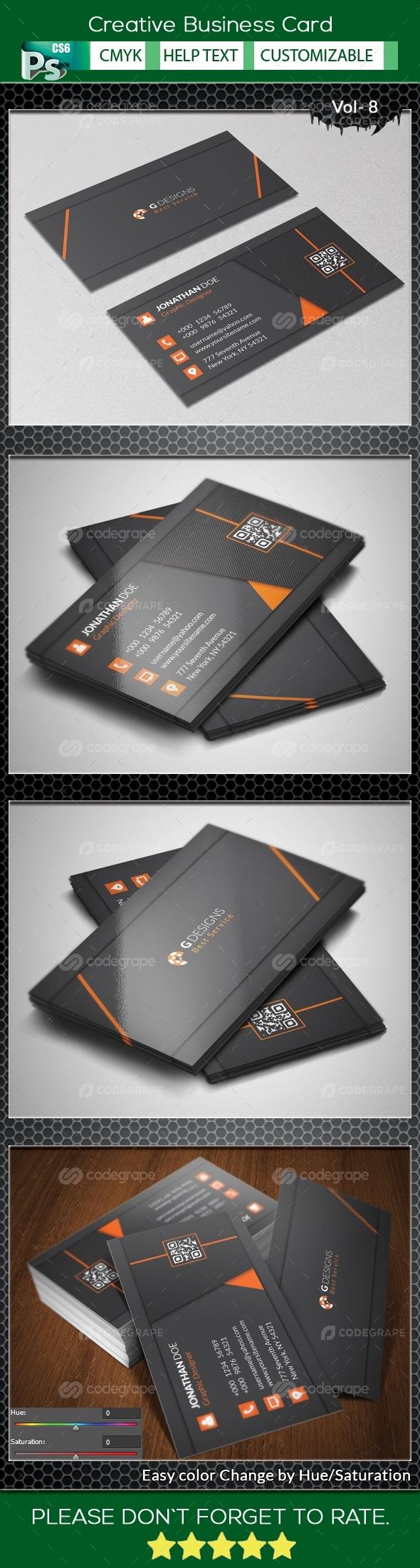 Creative Business Card V.8