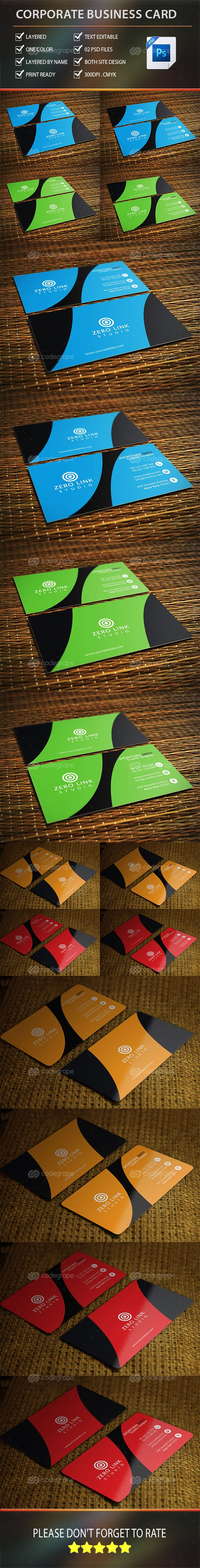 Corporate Business Card Vol-2.0