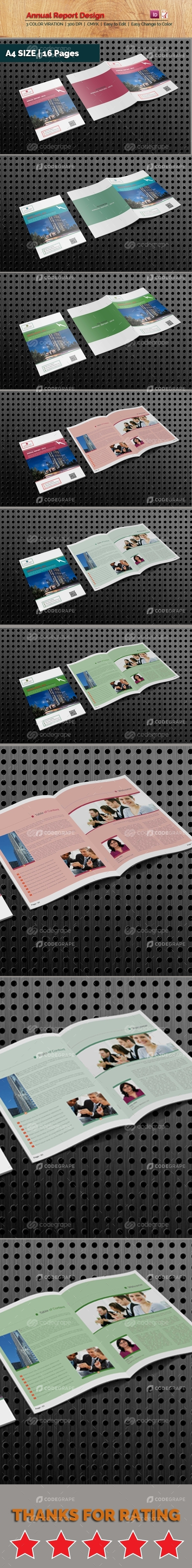 Annual Reports Template