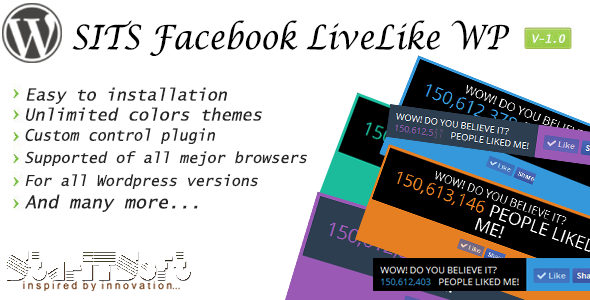 SITS - Facebook LiveLike Plugin for WordPress