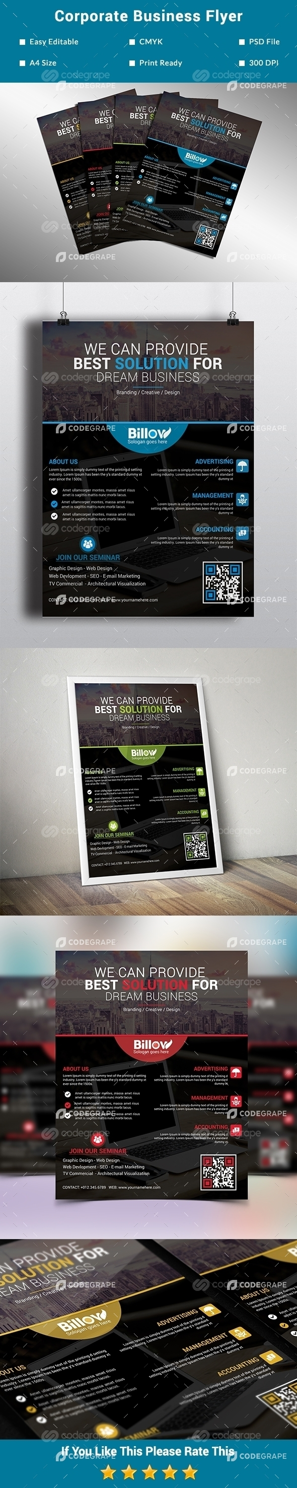 Corporate Business Flyer Vol. 1