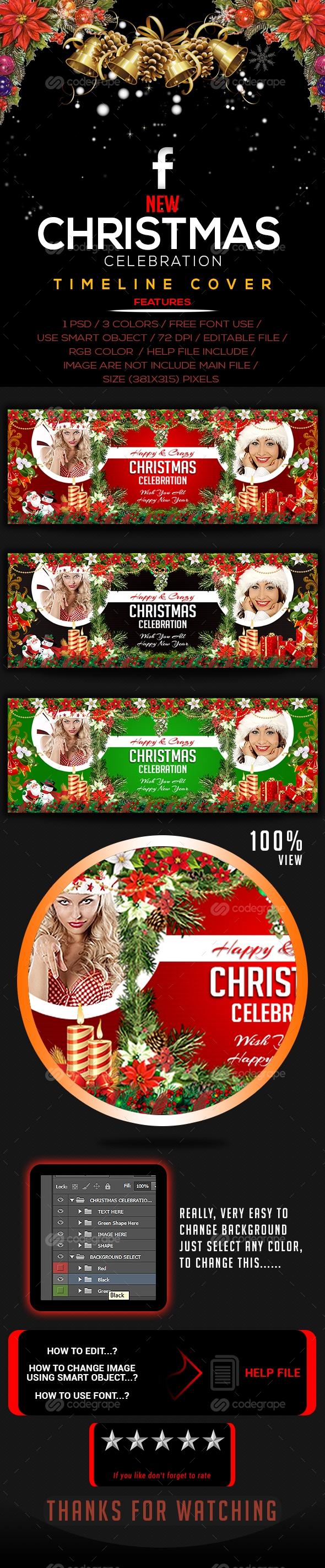 Christmas Celebration Timeline Covers