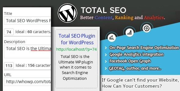 Total SEO - Ultimate SEO Plugin for WordPress